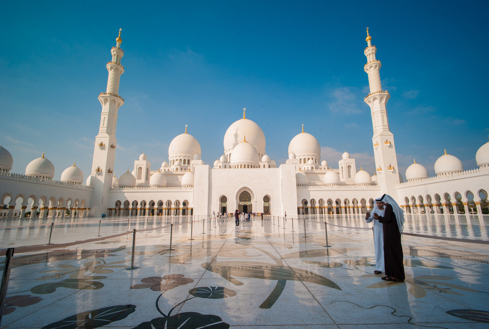 The Grand Mosque- Abu Dhabi
