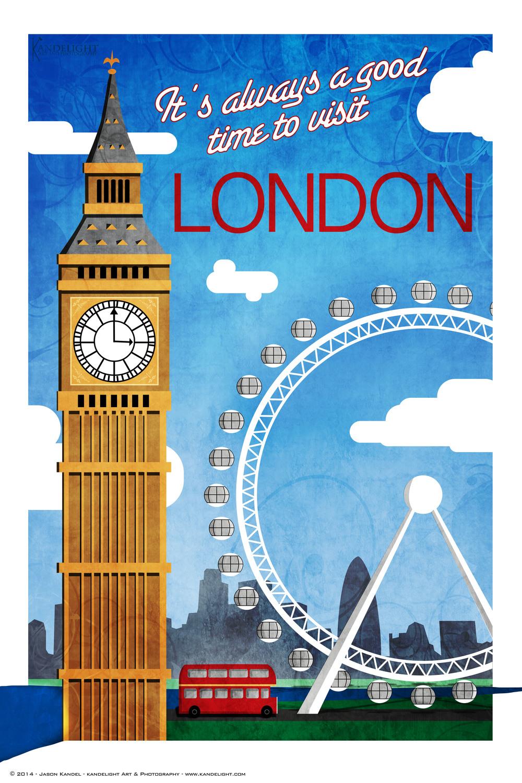 Newest Travel Poster Kandelight Art Amp Photography