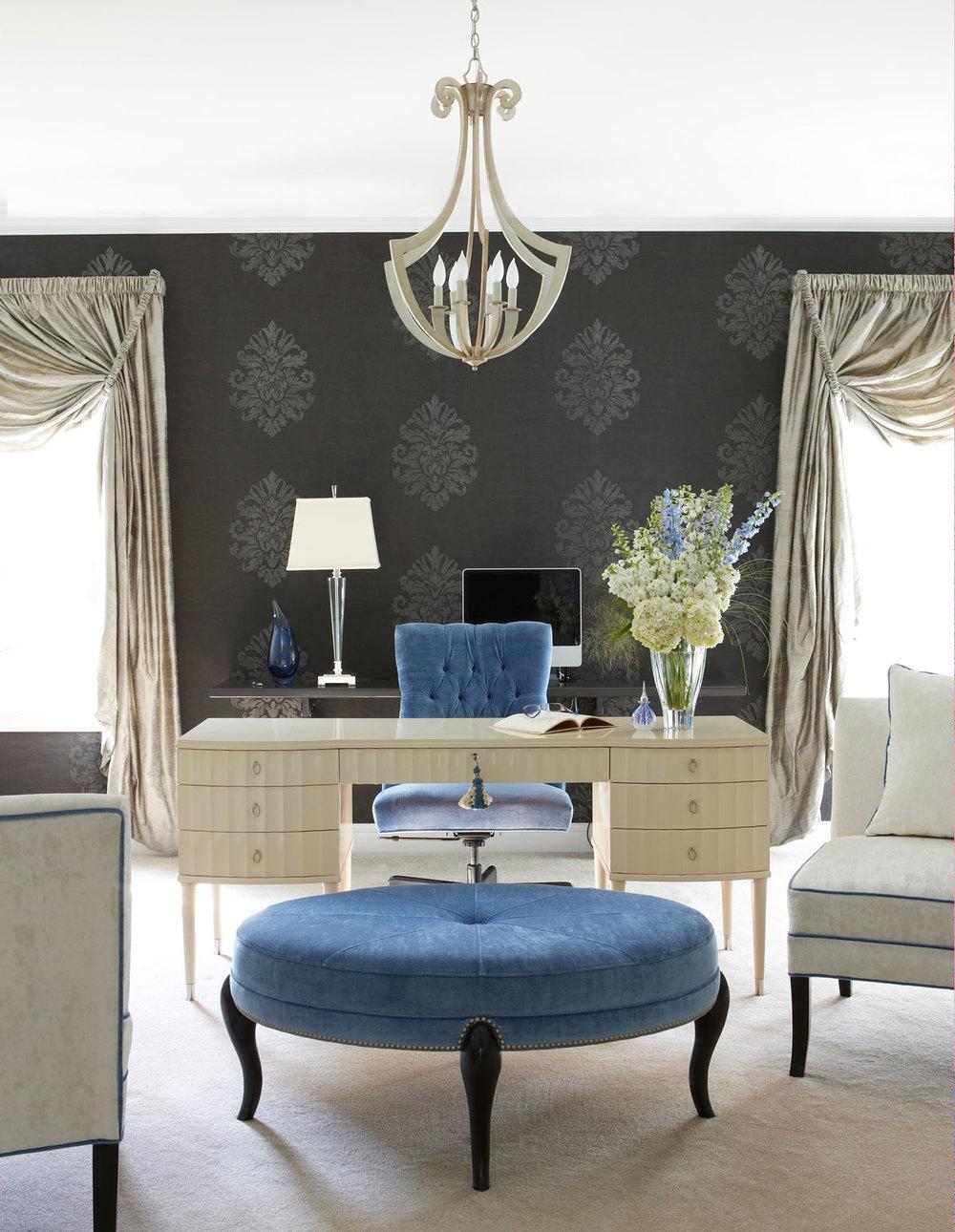 цветовые схемы интерьера цветовые схемы интерьера Цветовые схемы интерьера для домашнего офиса  format 1000w