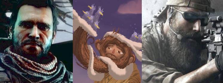 The millenial pioneers of beard.
