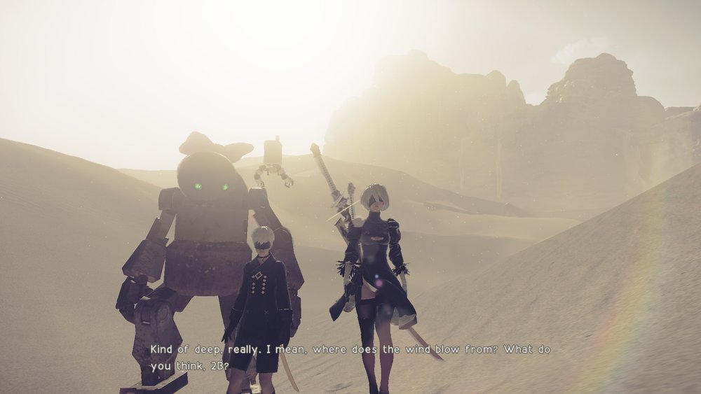 Nier: Automata - Aaron Mullan Reviews Platinum Games open-world action RPG