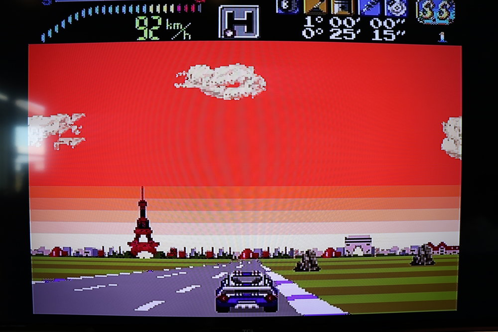 Victory Run - Phil Fogg reviews Hudson Soft's racing simulator for the TurboGrafx 16.