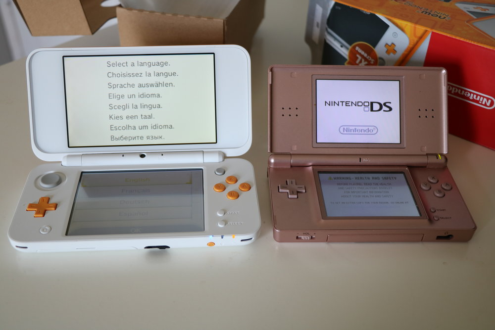 Out of interest I compared the second iteration of the DS to what is likely the last version of the 3DS.