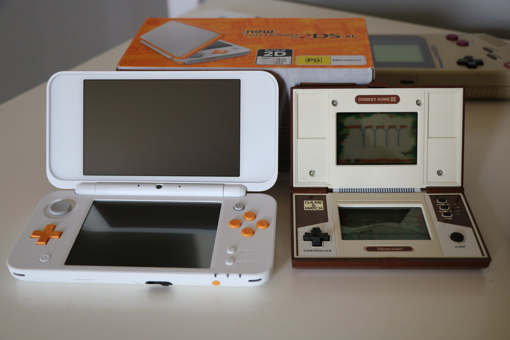 "Compared to one of the first ""multi-screen"" handhelds, it's great to see Nintendo stick to a concept so doggedly."