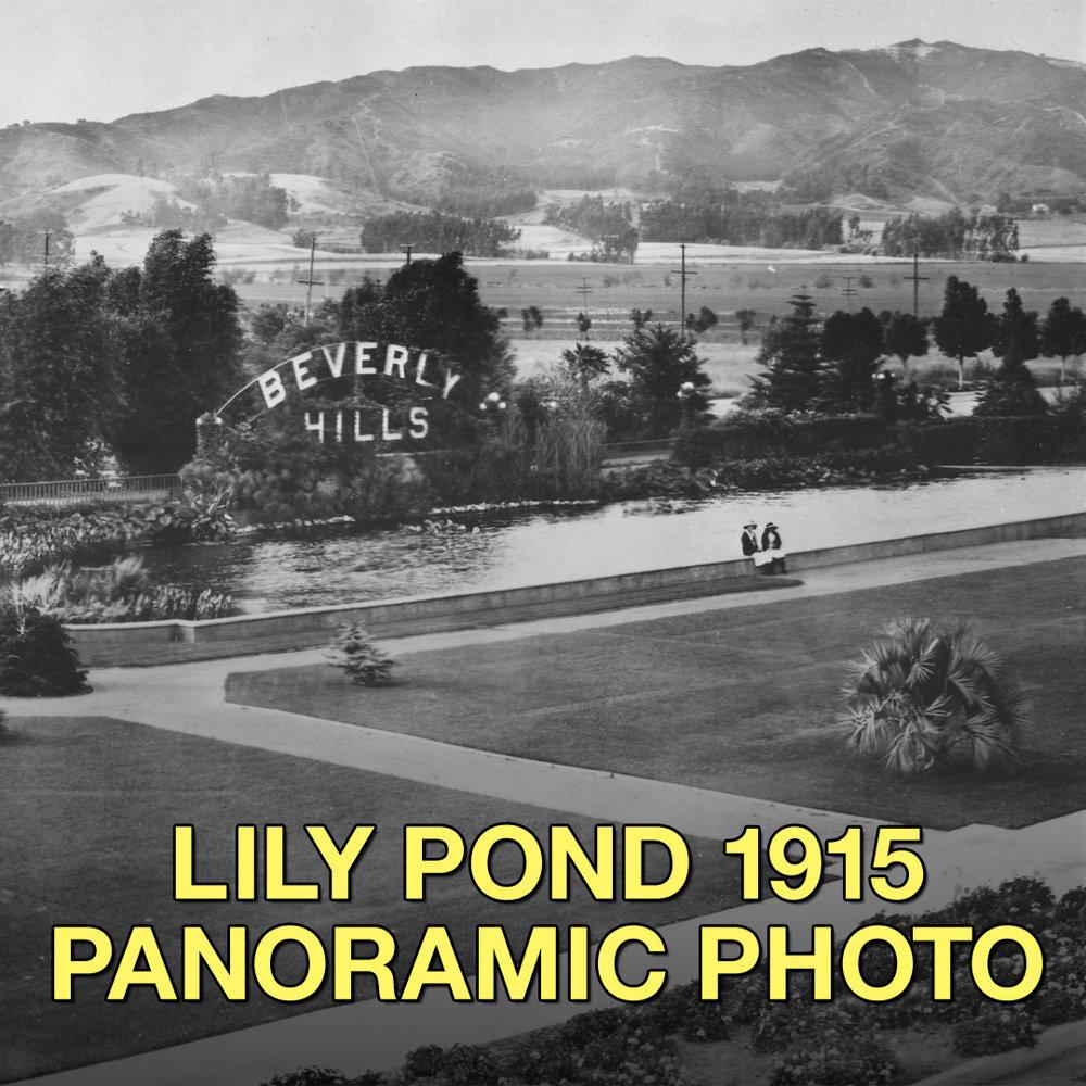 LILY POND PANORAMA 1915