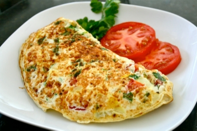 Beef & Spinach omelettes were always popular on the travel budget!