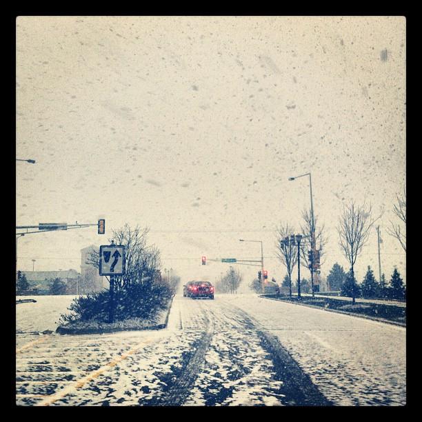 Woo hoo!!! #snow #minnesota