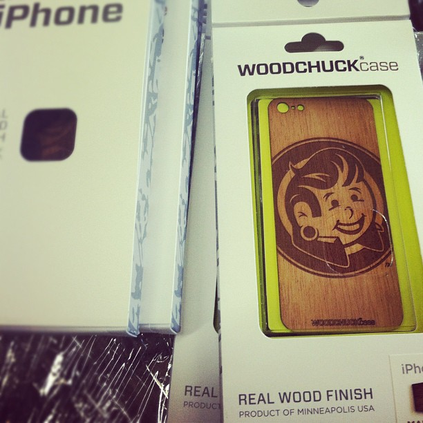 New @plugyourholes iphone 5 wood veneer cases by @woodchuckcase . Get #stoked . #plugyourholes #woodchuckcase