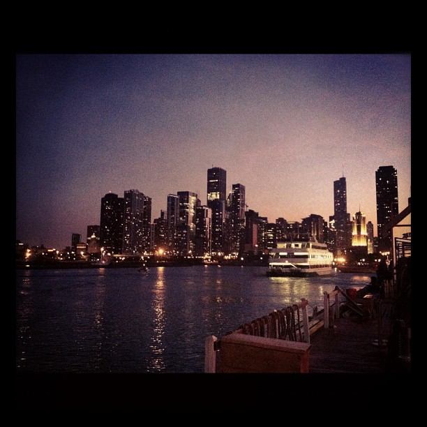 Visiting friends back in Chi! (Taken with  Instagram )