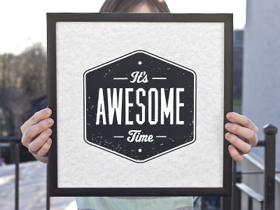 visualgraphic :      It's Awesome Time