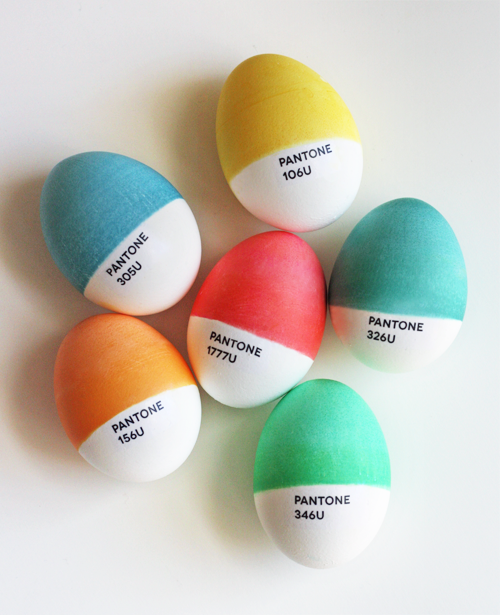 laughingsquid :      Pantone Easter Eggs