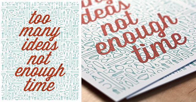visualgraphic :      Too many ideas