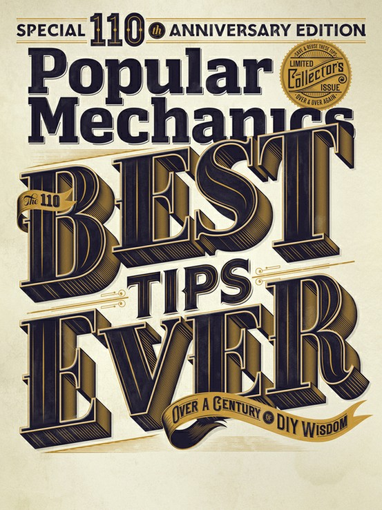 typeverything :     Typeverything.com - Popular Mechanics Cover