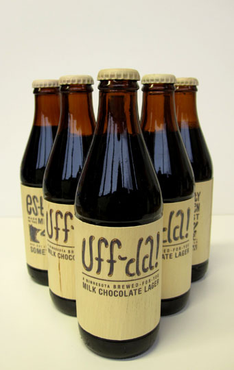 "shakenmake :     Uff-da! beer packaging. ""Minnesota brewed for you""    ©abbeyfrenchu"