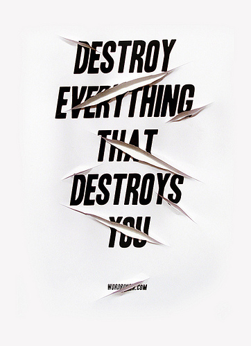typographme :     Destroy (by  wordboner )