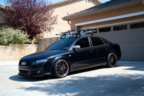 audi-inny :     I told myself I was done modifying my car at this point. What a joke.     New shoes!