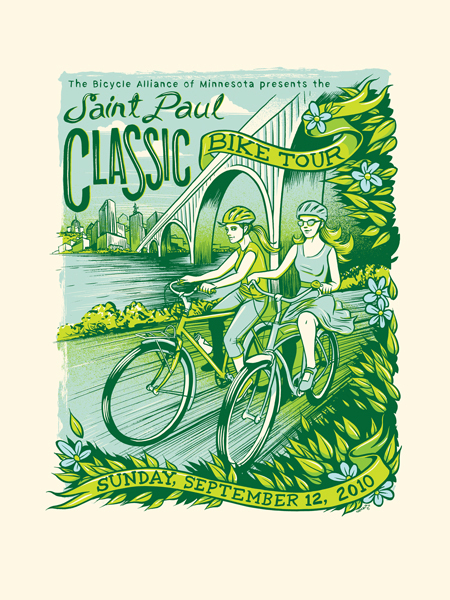 tousue: Officialy registered for 24 mile Saint Paul Classic Tour next Saturday! :) So excited!