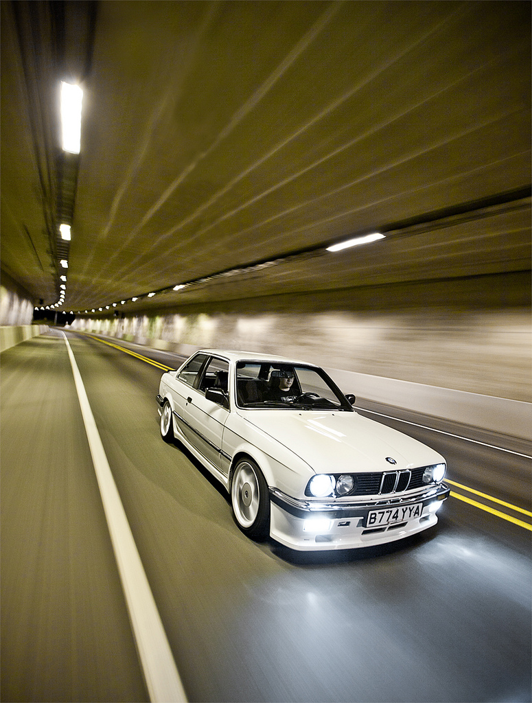 motoriginal :       Alpine Bullet    via  MotoringConBrio      BMW E30 3-Series