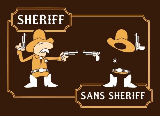 laughingsquid :      Sans Sheriff