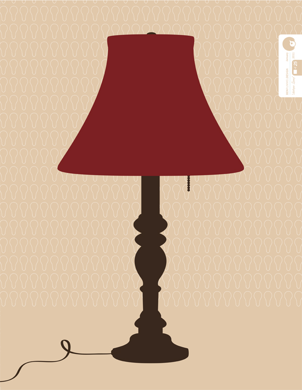 Here is another Fine Art poster about lamps! More fine art posters coming soon!  Read more about this project on my website…