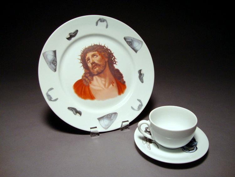 Southern Manhood Tableware (4. Afterlife)
