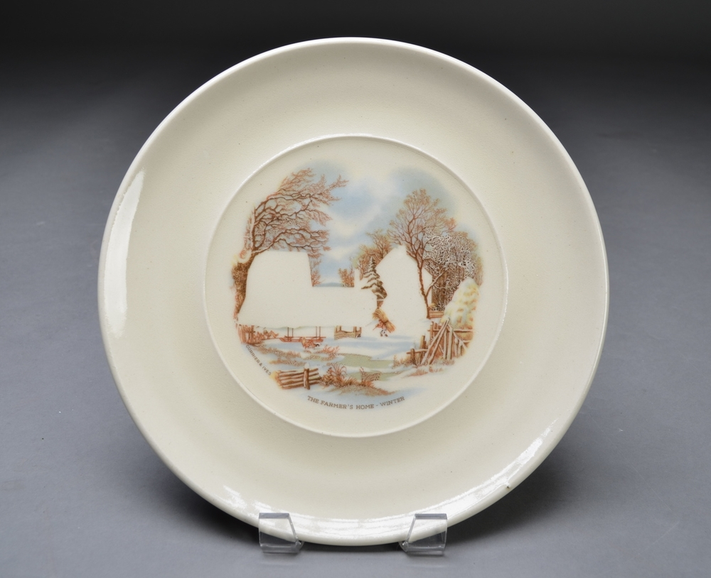 Collectable Plate ( Homeless 2)