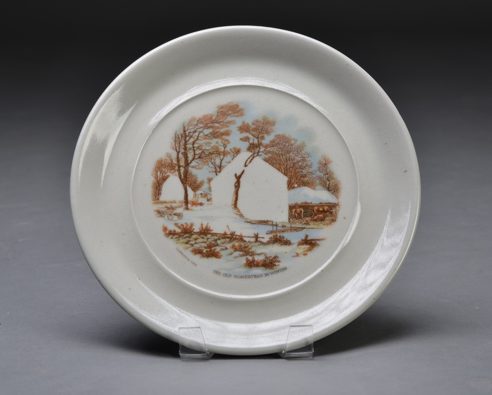 Collectable Plate (Homeless 3)