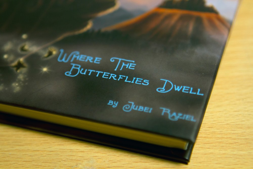 ...The Butterflies Dwell - Featured as one of the best reads by Blurb, Where The Butterflies Dwell is Jubei's first published book.Love and adventure unexpectedly finds Benjamin when he discovers the secret to an ancient legend in the magical world of Nora. Preview the book here!