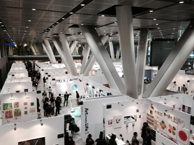 Tokyo Art Fair Peter Rive.JPG