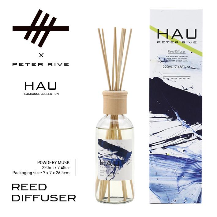 Peter Rive X G3O - HAU Fragrance Range