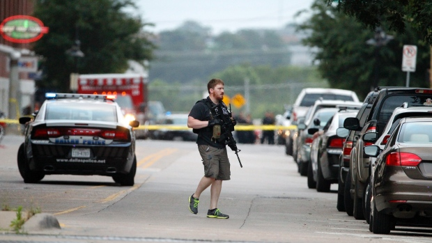 Dallas, Texas. Image courtesy CTV News. http://www.ctvnews.ca/world/suspect-in-dallas-shooting-warned-about-shooting-up-churches-schools-1.2421865