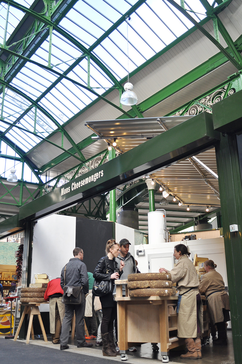 The new stall at Borough Market