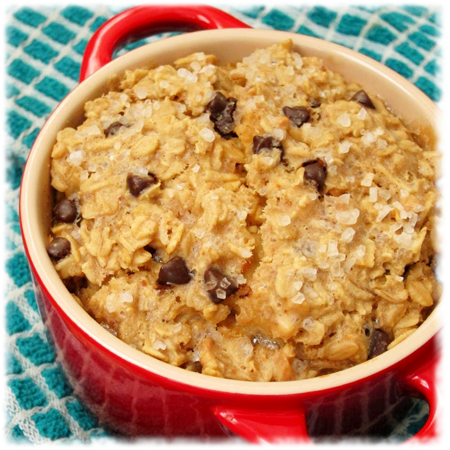 Peanut Butter Chocolate Baked Oatmeal