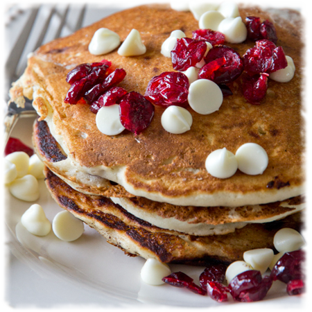 Cranberry Chip Pancakes