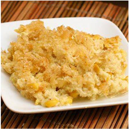 Sweet Onion Corn Bake