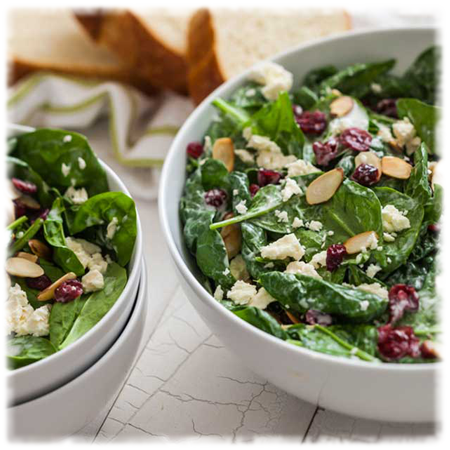 Cranberry spinach salad - square.png