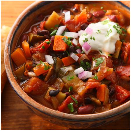 Roasted Veggie Chili