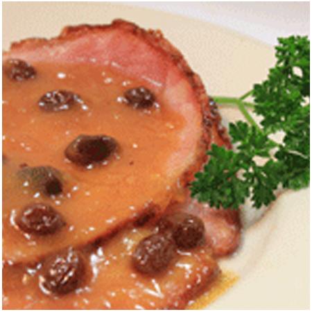 Orange Spice Glazed Ham