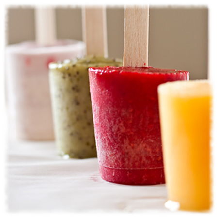 Fruit & Yogurt Ice Pops