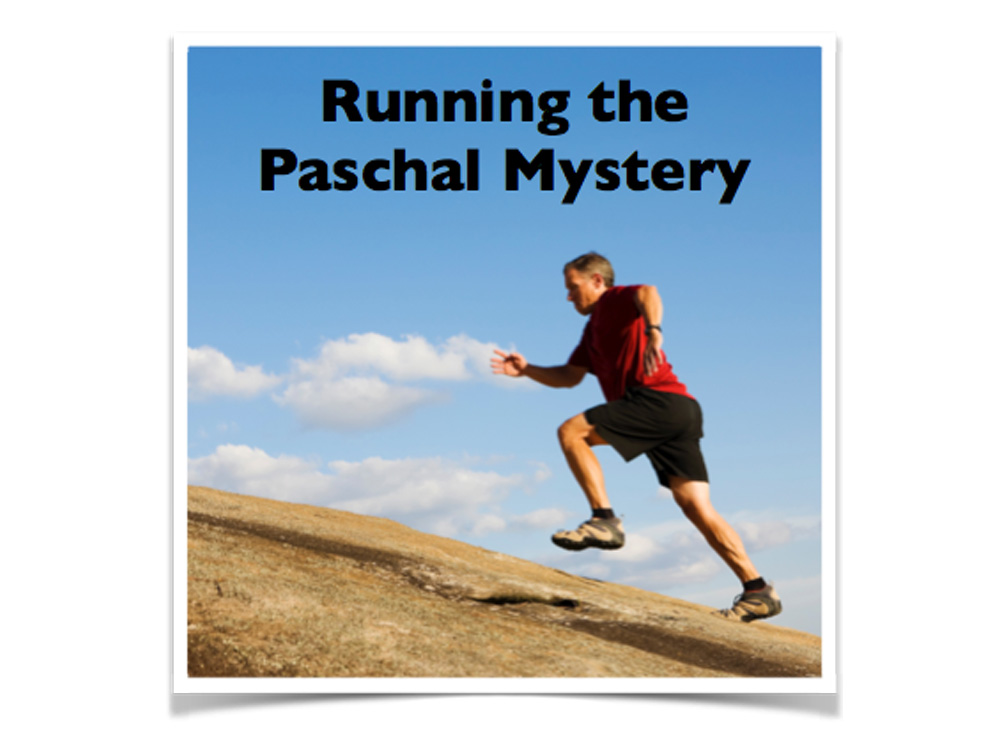 Running the Paschal Mystery Logo