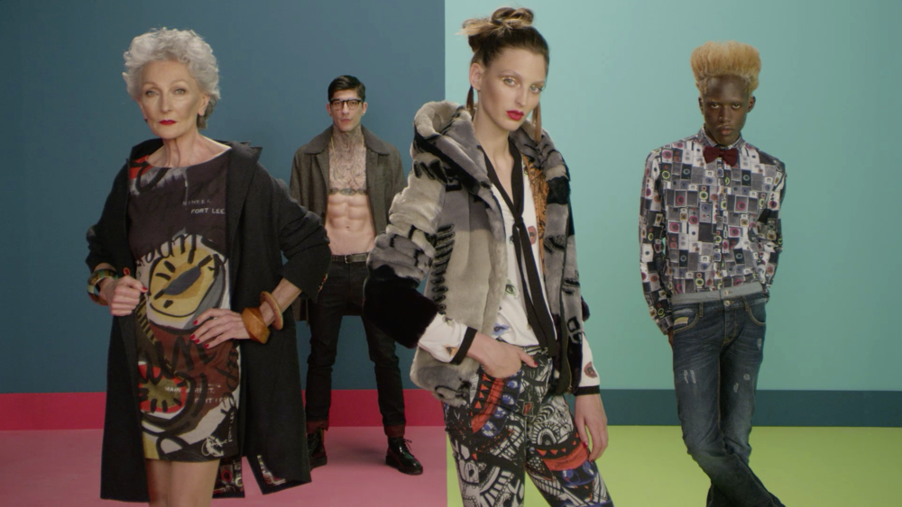 Yes you art - Desigual AW 2015 - nominated for Casting, Use of Fashion and Emerging Artist .jpg