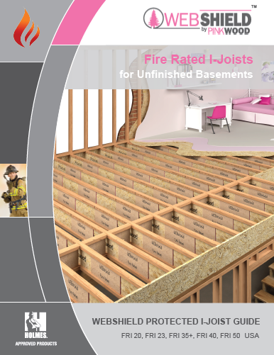 WEBshield Protected I-joist guide
