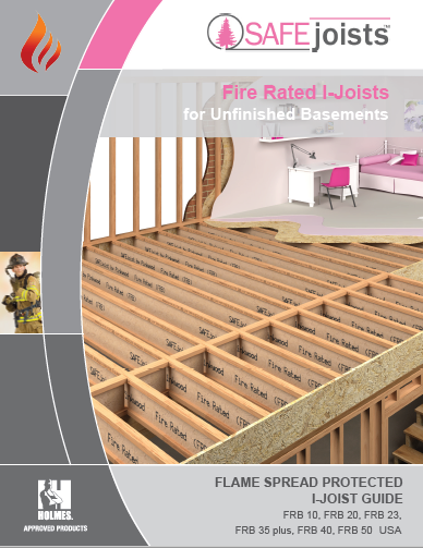 Flame Spread Protected I-joist Guide, USA