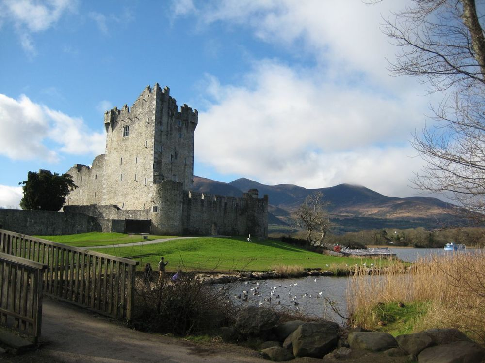 Ross Castle in Killarney National Forest. I have to say well done (or Fair play to you! more Irish-ishly) to my super-cheap Canon point & shoot.