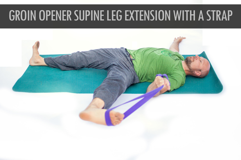 Groin Opener Supine Leg Extension With A Strap.jpg