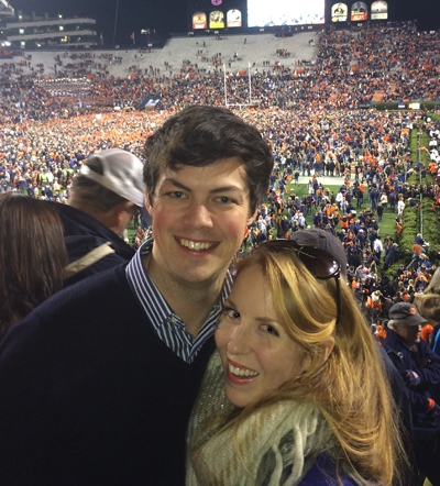 Patrick and Stacey at the 2013 Iron Bowl