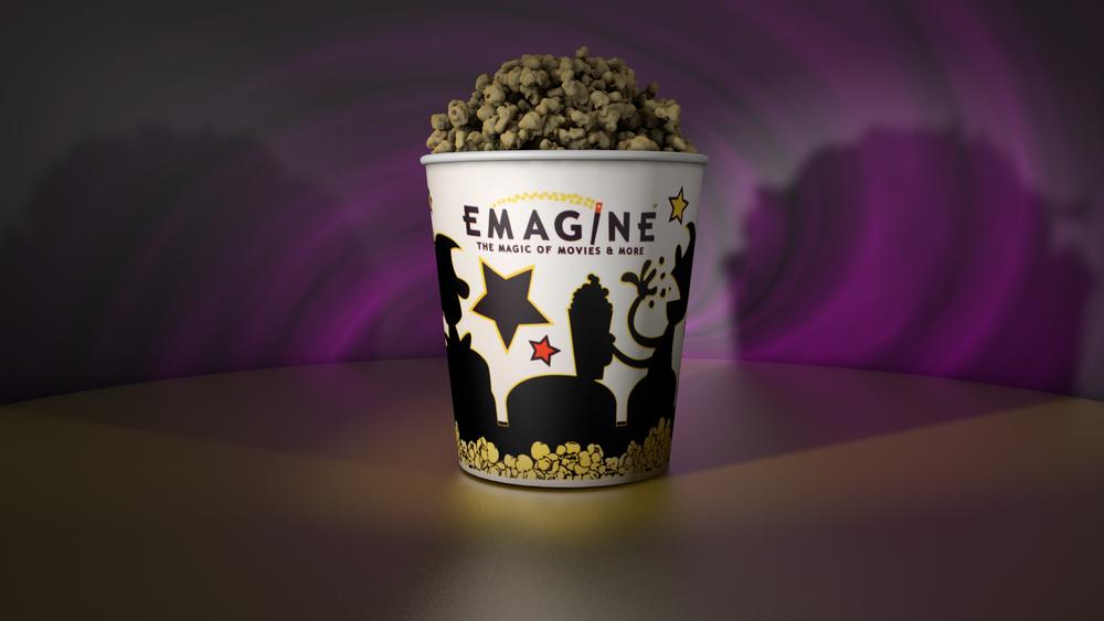 Emagine Popcorn Rendering