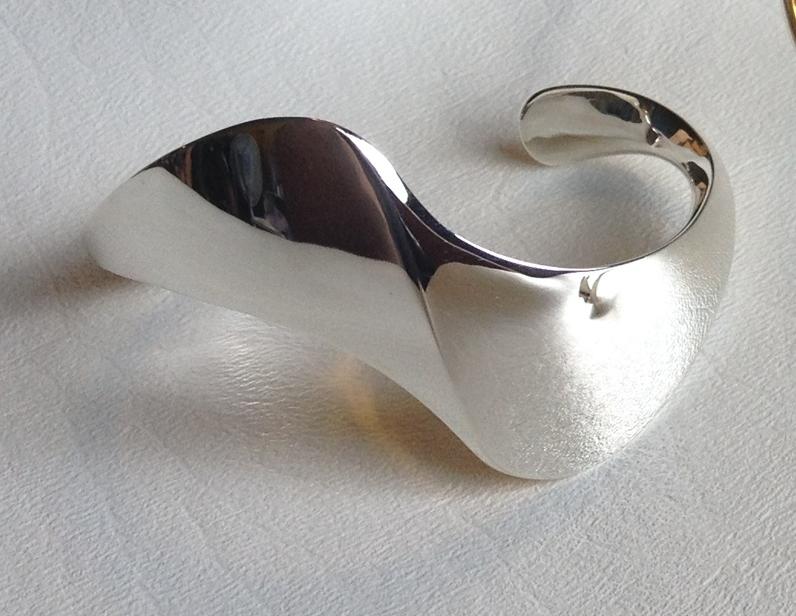 Heavy Silver Cuff #3