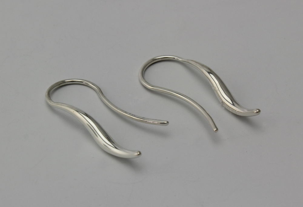 Small Double taper Drop Earrings