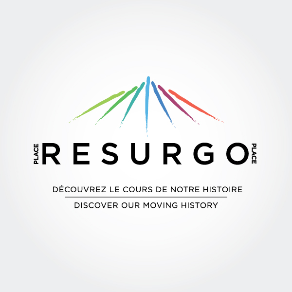 Resurgo Place logo design